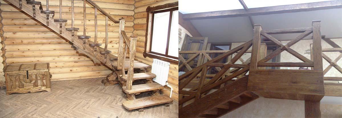 Пиломатериалы, элементов лестниц, инструмента, крепёжа в